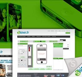 Création site e-commerce – Skiner