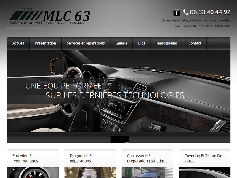 Nos créations de sites internet | WebandGo Agence Web Paris ...