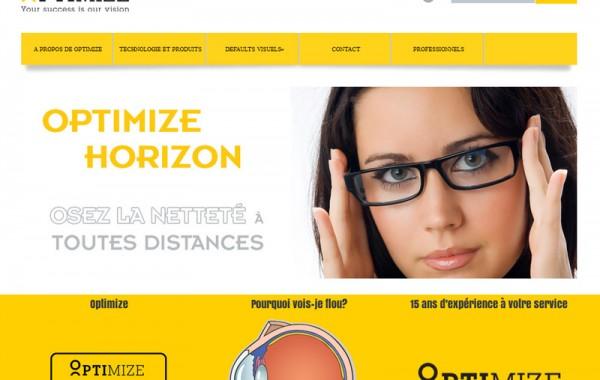 Création site internet – MyOptimize