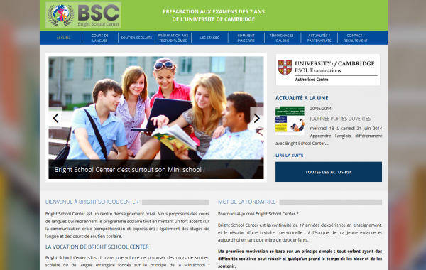 Création site internet – BCS